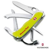 Canivete RescueTool com 12 Funcoes em Poliamida Amarelo - Victorinox