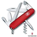 Canivete Camper Vermelho com 13 Funcoes em ABS e Celidor Vermelho - Victorinox