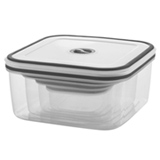 Conjunto de Potes com Fechamento Hermetico em Plastico com 04 Pecas - Electrolux