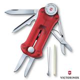 Canivete GolfTool com 10 Funcoes em Poliamida Vermelho Translucido - Victorinox