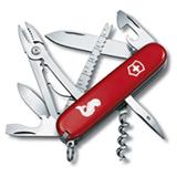 Canivete Angler com 19 Funcoes em ABS e Celidor Vermelho - Victorinox