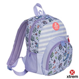 Mochila Xtrem Power 819 Backpack Foxy Stripes Lilas