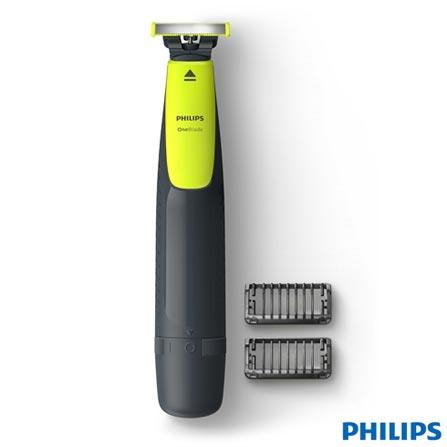 OneBlade Philips para Uso a Seco e Molhado - QP2510/10
