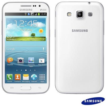 Imagem para Smartphone Samsung Galaxy Win Duos Branco - I8552 a partir de Fast Shop