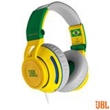 Fone de Ouvido On Ear JBL com Almofadas de Espuma Incluídas Verde/Amarelo - SYNCHROSS500