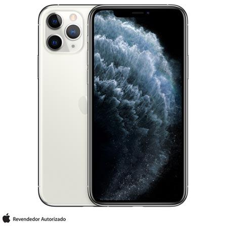 """iPhone 11 Pro Prata, com Tela de 5,8"""", 4G, 64 GB e Câmera de 12 MP - MWC32BZ/A"""