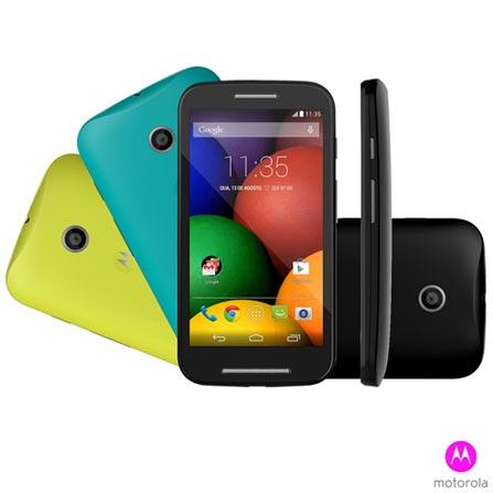 """Imagem para Smartphone Moto E™ DTV Colors Preto Dual Chip, Android™ 4.4 Kitkat®, 4GB de Memória, Qualcomm Snapdragon e Tela de 4.3"""" a partir de Fast Shop"""