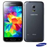 """Smartphone Samsung Galaxy S5 Mini Duos Preto com Android 4.4, Quad Core, 16GB, 8MP, Tela de 4.5"""", 3G e Wi-Fi - SM-G800H"""