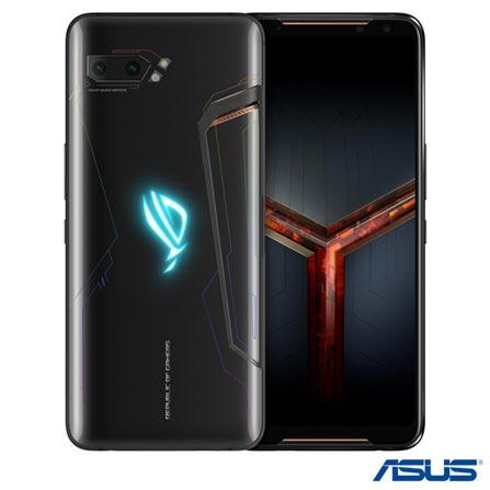 """ROG Phone II Black Asus, com Tela de 6,59"""", 4G, 8GB/128GB e Câmera Dual 48+13MP - ZS660KL-1A038BR"""