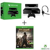 Xbox One com Novo Kinect + Headset + 14 Dias Live Grátis + Jogo Dead Rising 3 para Xbox One