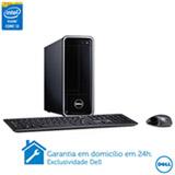 Computador Dell Inspiron 3647-A20 com Intel® Core™ i3, 4G de Memória, 1 TB de HD, Windows 8, Preto
