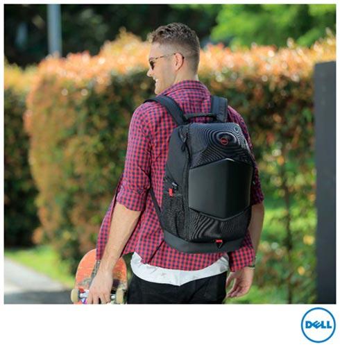 b5f2cbfbdb42 Notebook Dell i7, 16GB, 1TB+128SSD, 15,6, Gaming Edition i15-7559-A30 +  Mochila Preto com Detalhes em Vermelho DE460BC