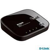 Roteador D-Link DIR-412 Preto para Rede Sem Fio Móvel para Conexão de Modem 3G