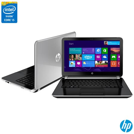 Imagem para Notebook HP, Intel Core i5, 8GB, 1TB, Tela de 14'', AMD Radeon HD, Pavilion Energy Star - 14-n040br a partir de Fast Shop