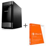 Computador Lenovo H520G, Intel® Core™ i7-3770s, 8GB de Memória, 1TB de HD e Windows 8 com Office 365 Home Premium