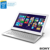 Ultrabook 2 em 1 Sony VAIO, Intel® Core™ i7, 8GB, 128GB, Tela de 13,3'' Touch, Duo 13 - SVD13237CBW