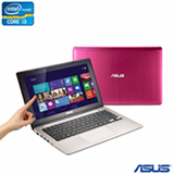 Notebook Asus VivoBook Intel Core i3-2365M, 4GB, 500GB, Tela Touch 11.6' e Windows 8 - S200E-CT276H