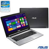 Ultrabook Asus, Intel Core i5-3317U, 6GB, 500GB, Tela 14' - S46CB