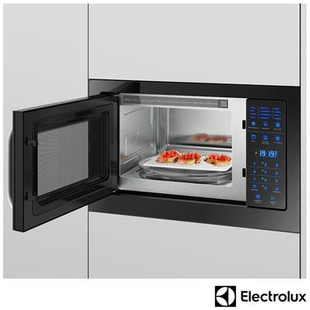 251c13c90 Micro-ondas de Embutir Electrolux com 28 Litros de Capacidade e Grill Preto  - MB38P