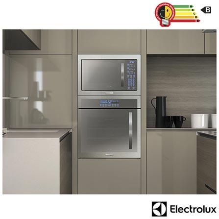 eb055f6a6 Micro-ondas de Embutir Electrolux Home Pro com 34 Litros de Capacidade e  Grill Inox - MB43T