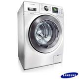 Lavadora e Secadora de Roupas Samsung Front Load 8,5 Kg, EcoBubble e Air Wash - Branco - WD856UHSAWQ