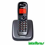 Telefone sem Fio Digital Intelbras, DECT 6.0 com Identificador de Chamadas, Viva-Voz, Cinza - TS6120
