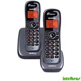 Telefone sem Fio Intelbras TS 6122 DECT 6.0 com Identificador de Chamadas, Viva-Voz e Ramal Adicional