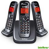 Telefone sem Fio Intelbras DECT 6.0, Viva-Voz 2 Ramais Adicionais, Cinza - TS6123