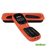 Telefone sem Fio Intelbras Dect 6.0 com Viva-Voz, Coral - TS80V