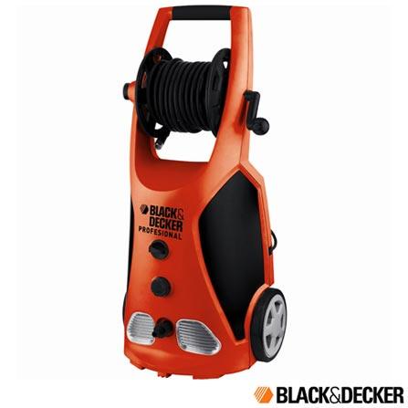 Imagem para Lavadora de Alta Pressão Profissional Black & Decker, com Potência de 2100W, Laranja - PW2100B a partir de Fast Shop