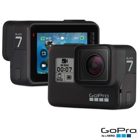 Câmera Digital GoPro Hero 7 Black com 12 MP, Gravação em 4K - HGHERO7BLK