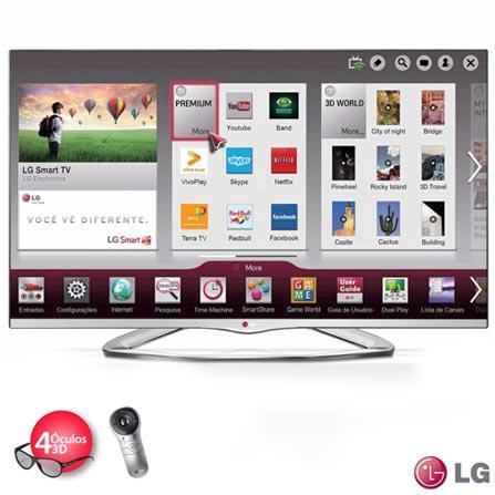 Imagem para Smart TV LED 3D LG 47
