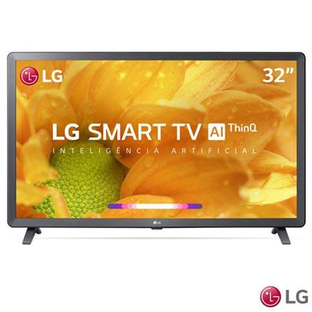 Smart TV LG LED 32 ? com Comandos de Voz, WebOS 4.5, Upscaler HD, HDR Ativo e Wi - Fi Preta - 32LM625BPSB LG32LM625BPSB_PRD