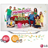 Smart TV 3D LED LG Cinema 47' Full HD 47LA7400
