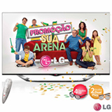 Smart TV 3D LED LG 60'' Cinema 3D com Controle Smart Magic 60LA8600