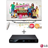 Smart TV LED LG 55' Cinema 3D com Controle Smart Magic - 55LA8600 + Blu-ray Player LG 3D com HDD Externo e Conexão USB - BP325N