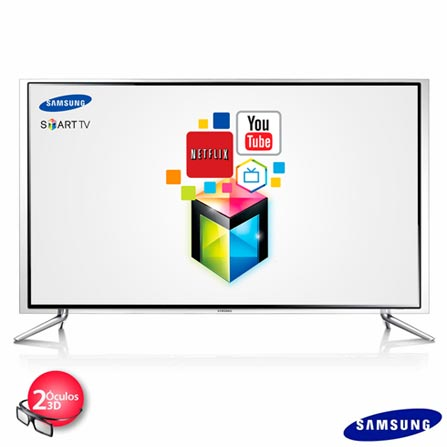 Pacote Promocional EXCLUSIVO SMART TV LED 3D SAMSUNG 46 FULL HD