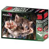 Quebra Cabeca Super 3D Modelo Gato com 500 pecas - Multikids