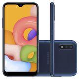 Samsung Galaxy A015 Azul, com Tela Infinita de 5.7, 4G, 32GB e Camera Dupla 13MP+2MP -SM-A015AZL