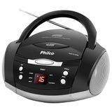Boombox Philco com Potencia 3,4 W RMS Entrada auxiliar de audio estereo - PH61