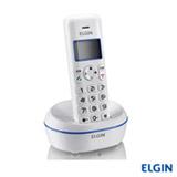Telefone sem Fio Elgin, Agenda para 50 contatos, Branco e Azul - TSF5001