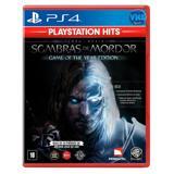 Terra-Media : Sombras de Mordor GOTY BR - PS4
