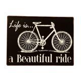Placa de Metal Decorativa Vintage Ride