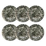 Conjunto de 6 Pratos Fundos 20,5cm Unni Rock