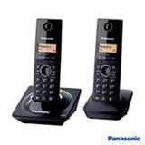 Telefone sem Fio Panasonic DECT 6.0 com Identificador de Chamadas + Ramal, Preto - KXTG1712LBB
