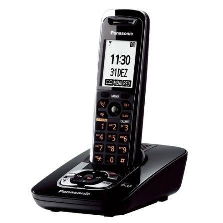 Imagem para Telefone s/ Fio c/ Secretária Eletrônica Panasonic a partir de Fast Shop
