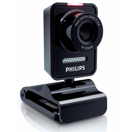 Imagem para Webcam 1.3MP / Giro de 360° / Microfone Philips a partir de Fast Shop